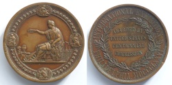 World Coins - USA - Medal 1876 – International Exhibition - Philadelphia, MDCCCLXXVI