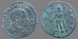 Ancient Coins - Maximianus, As Senior Augustus - AE Follis - GENIO POP ROM - London - RIC.85