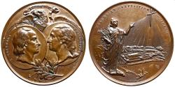 Us Coins - USA - 1892-1893 World's Columbian Exposition Rome Medal - impressive
