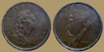 World Coins - IRELAND - Georgius III - Penny 1805 - KM.148.1