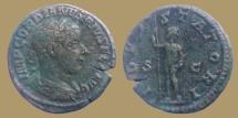Ancient Coins - Gordian III -  Æ As - IOVI STATORI - Rome mint - scarce