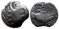 Ancient Coins - GAUL - Senones trib - Bronze YLLYCII