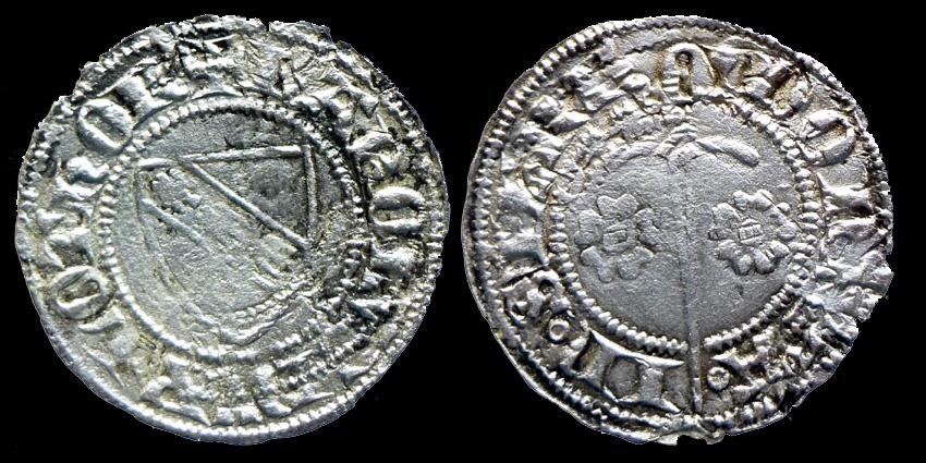 World Coins - French Feudal - LORRAINE - Charles II - Double denier - SIERCK mint