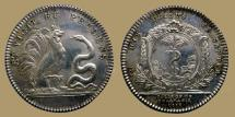 World Coins - FRANCE - AR jeton- COLLEGE DE PHARMACIE - Snake and rooster - 1778