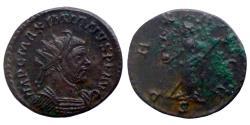 Ancient Coins - Maximianus Herculis - Bi Aurelianus - PAX AVGG - Lyon - RIC.396