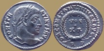 Constantine - AE reduced follis - DN CONSTANTINI MAX AVG - Rome mint