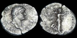 Ancient Coins - Domitian as Caesar - Quinarius - VICTORIA AVGVSTI - RARE!