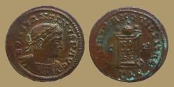 Ancient Coins - Constantine the Great - AE reduced follis - BEATA TRANQVILLITAS - Lyon - RIC.128