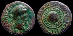 Ancient Coins - Domitian - AE 22 - Macedonian shield - Koinon of Madedon