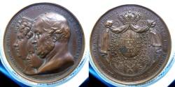 World Coins - ITALY - Regno delle Due Sicilie - Madal Visit of Paris mint 1830 - Francesco I di Borbone  - RR!