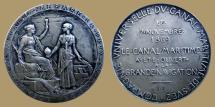 World Coins - FRANCE - AR Medal - Compagnie Universelle du Canal maritime de Suez - Lecompte 1