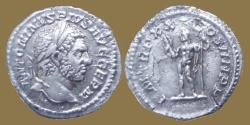 Ancient Coins - CARACALLA - Denar - PM TRP XX COS IIII PP Jupiter - RIC.285a