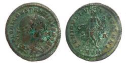 Ancient Coins - CONSTANTINUS I as Caesar- Follis - GENIO POPVLI ROMANI - Trier mint - RIC.694