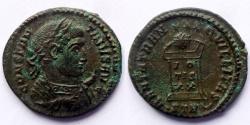 Ancient Coins - Constantine the Great - AE reduced follis - BEATA TRANQVILLITAS - Trier
