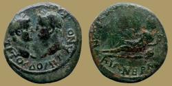 Ancient Coins - TITUS and DOMITIAN as Caesars - Smyrna mint, M. Vettius Bolanus - RARE