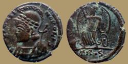 Ancient Coins - CONSTANTINOPOLIS - Ae reduced Follis - Trier mint - RIC. 543 - imitation !