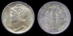 Us Coins - USA - Mercury dime 1918 - nice quality