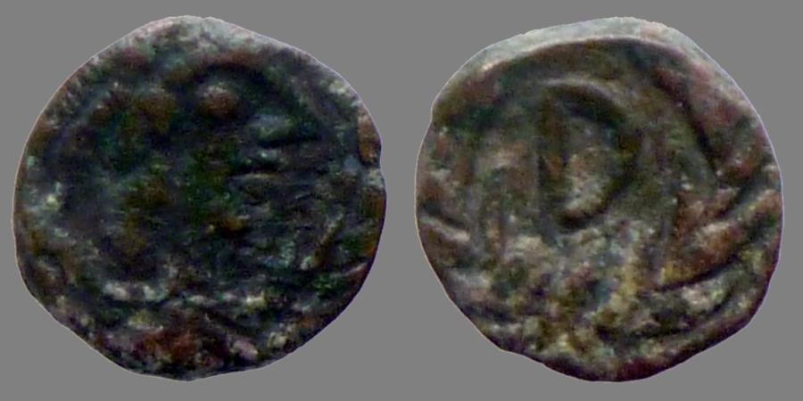 Ancient Coins - Vandals - AE nummus -  Gunthamund (484-496) - Carthage.