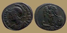 CONSTANTINOPOLIS - Ae reduced Follis - Nicomedia mint - RIC. 196