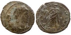 Ancient Coins - THEODORA - Ae4 - PIETAS ROMANA - Trier - RIC.65