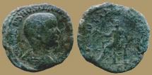 Ancient Coins - Hostilian - AE Sestertius - Apollo