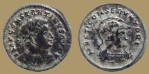 Ancient Coins - CONSTANTINE I - AE Follis - MARTI CONSERVATORI - Mars bust right - Trier mint