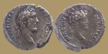 Ancient Coins - ANTONINUS PIUS & MARCUS AURELIUS - Denarius