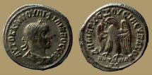 Ancient Coins - Philip II - AR Tetradrachm - Eagle - Antioch - Prieur 473