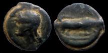 Ancient Coins - GAUL - Incertain French center (Bituriges, Seine) - Potin au MA