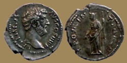 Ancient Coins - Hadrian - Denar - PROVIDENTIA AVG - highgrade