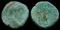 Ancient Coins - Commodus Æ Sestertius VOTA SVSCEP DECEN