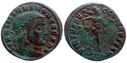 Ancient Coins - Maximinus II Daia - AE follis - VIRTVS AVGG ET CAESS NN - Ticinum - Ric.60b