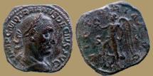 Ancient Coins - TRAJAN DECIUS - AE Sestertius - VICTORIA AVG  - RIC.126d