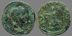 Ancient Coins - Alexander Severus - AE Sestertius - VICTORIA AVGVSTI - RIC 620
