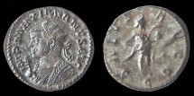 Ancient Coins - MAXIMIANUS Herculis - Silvered Aurelianus - SALVS AVGG - Lyon