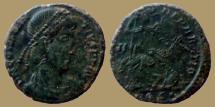 Ancient Coins - Constantius II - Ae3 - FEL TEMP REPARATIO - Aquileia - RIC.215