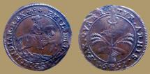 World Coins - Belgium. Spanish Netherlands. Brussel Phillip IV of Spain (1621-1665). AE Jeton 1651