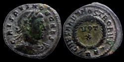 Ancient Coins - Crispus - CAESARVM NOSTRORVM  VOT X - Rome