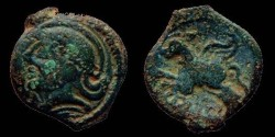 Ancient Coins - Gaul - Suessiones - CRICIRV type