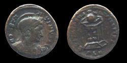 Ancient Coins - CONSTANTINE I - Ae reduced follis - BEATA TRAN - QVILLITAS - Lyon - RIC.200 R5