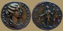 Ancient Coins - LUCILLA - AE Dupondius - IVNO REGINA - great quality
