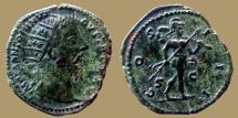 Ancient Coins - Marcus Aurelius - AE Dupondius - COS III -  Mars, Trophy & Spear -  Rome - RIC 994 - nice for type