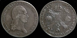World Coins - Italy Milan - Franciscus II - Crocione 1793 M - nice