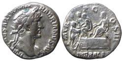 Ancient Coins - Hadrian - AR Denar - LIBERAL AVG III - RIC.129 - scarce