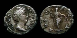 Ancient Coins - Faustina Mater - Denarius - AVGVSTA
