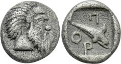 Ancient Coins - A Scarce Litte Fraction in Attractive Condition