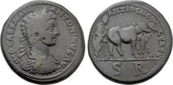 Ancient Coins - The Foundation of a Colonia: Plowing the Pomerium