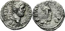 Ancient Coins - CLODIUS ALBINUS (193-197). Denarius. Lugdunum. - (46)