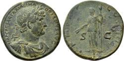 Ancient Coins - HADRIAN (117-138). Sestertius. Rome.