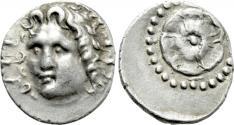 Ancient Coins - CARIA. Rhodes. Drachm (Circa 88/42 BC-AD 14).